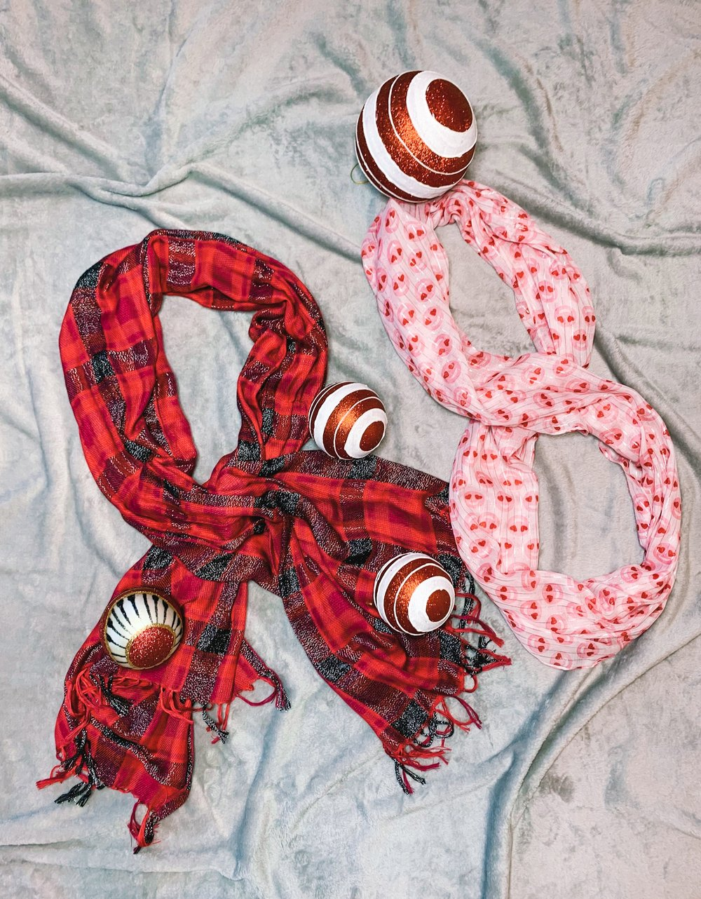 Themed - Plaid or valentine add a whimsy vibe