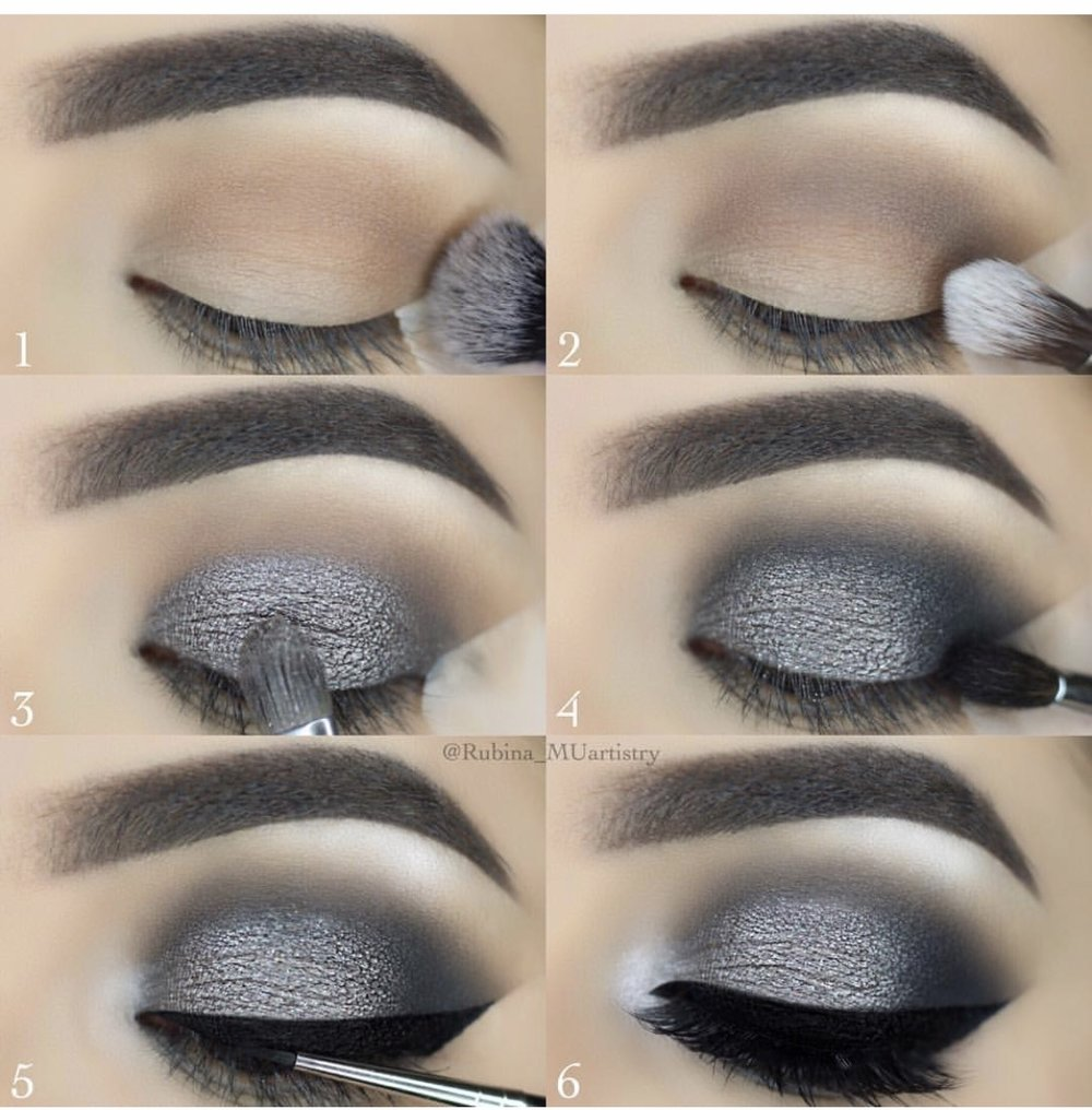 Tutorial Post - my guide for gray smoky eye