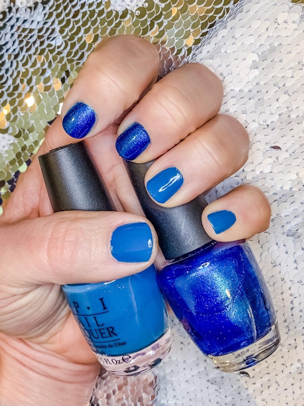 2 color manicure
