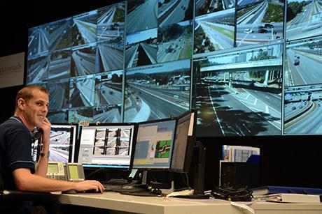 Image courtesy of Main Roads, Traffic Control Centre