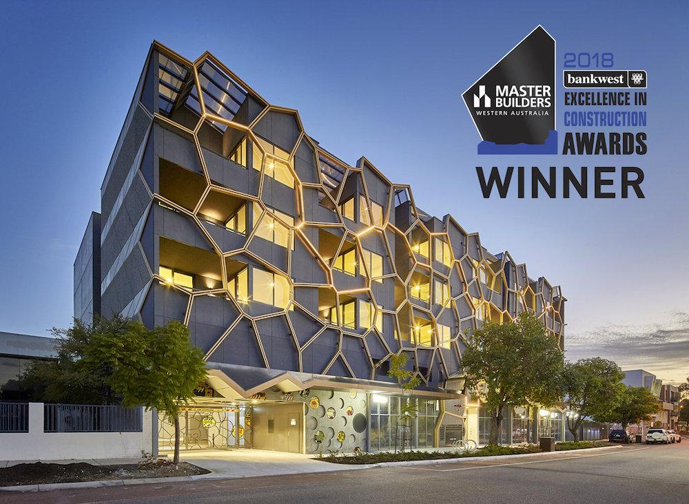 M24 2018 MBAWA Excellence in Construction Awards - Best Multi-Unit Development 10-20mill Winner.jpg