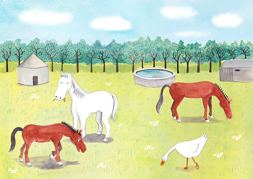 """Illustrations for """"Our Farm"""" release date TBC"""