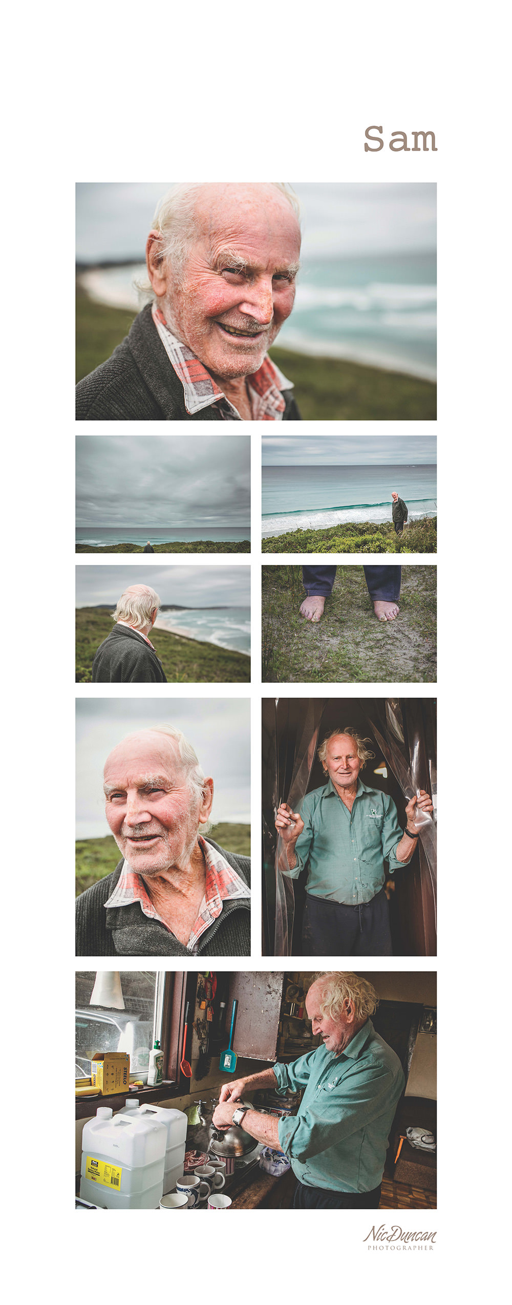 Old People Portraits
