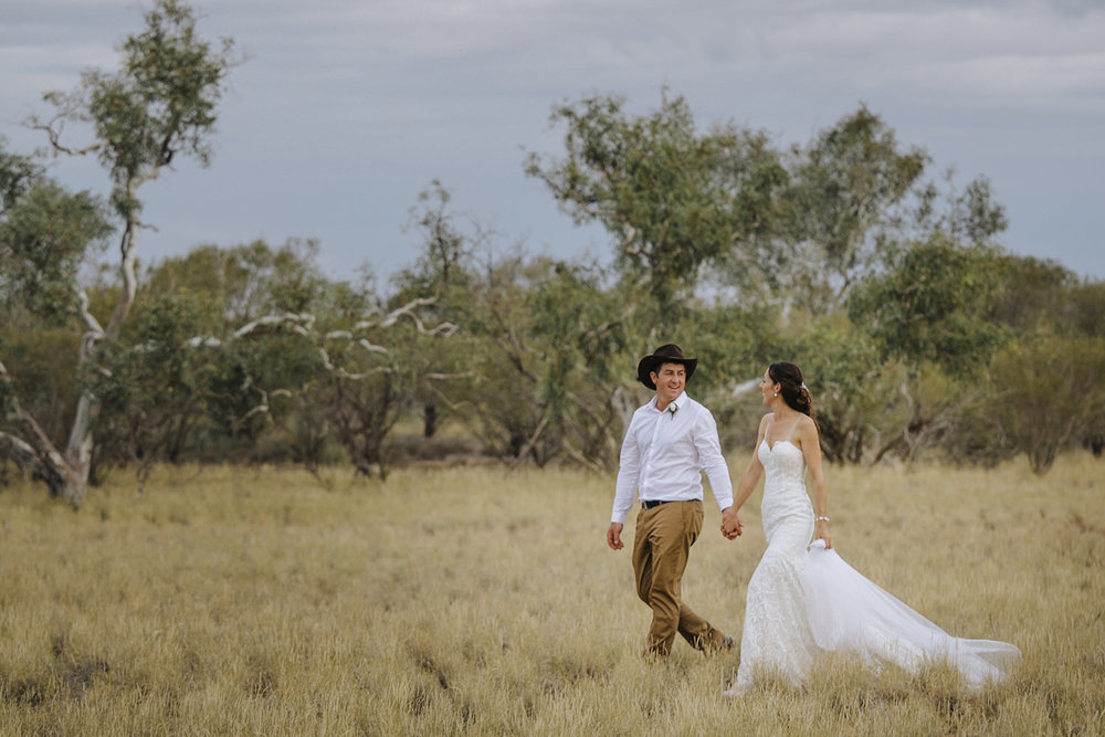 Wooleen Station Wedding