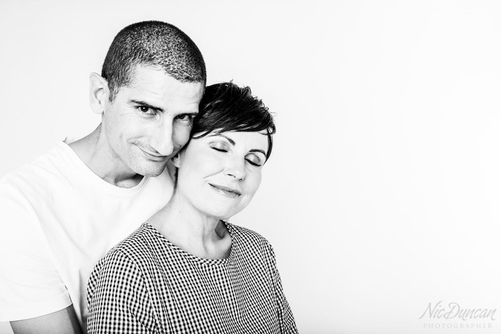 Couple studio portrait in Denmark WA