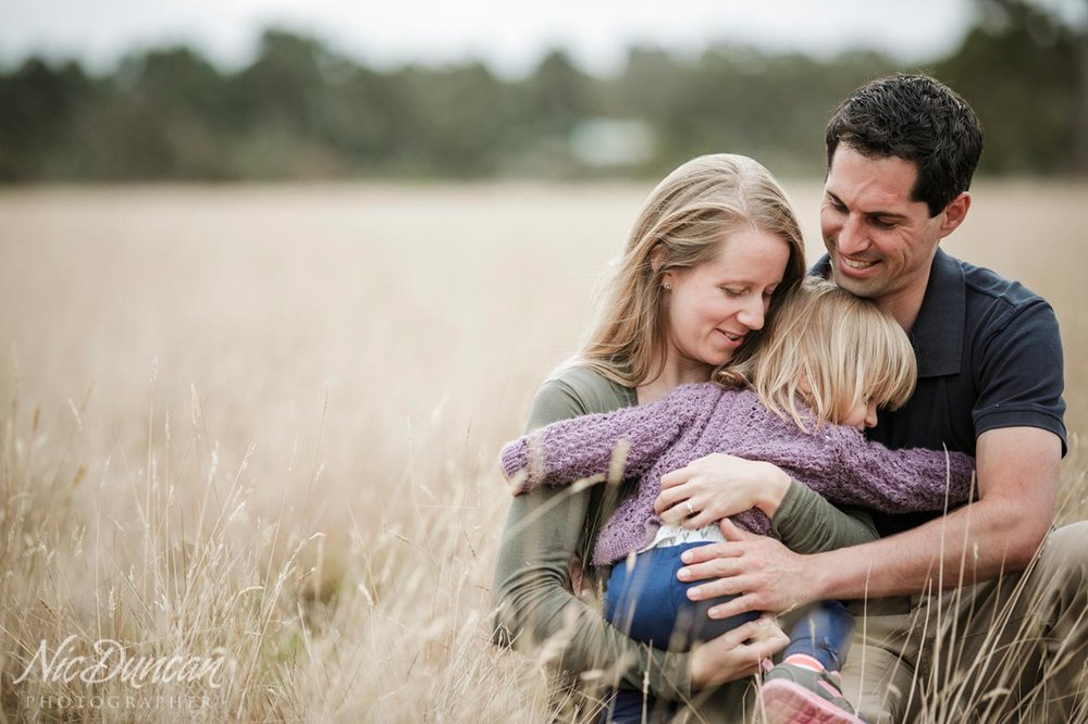Portraits on the family farm in Albany, Western Australia