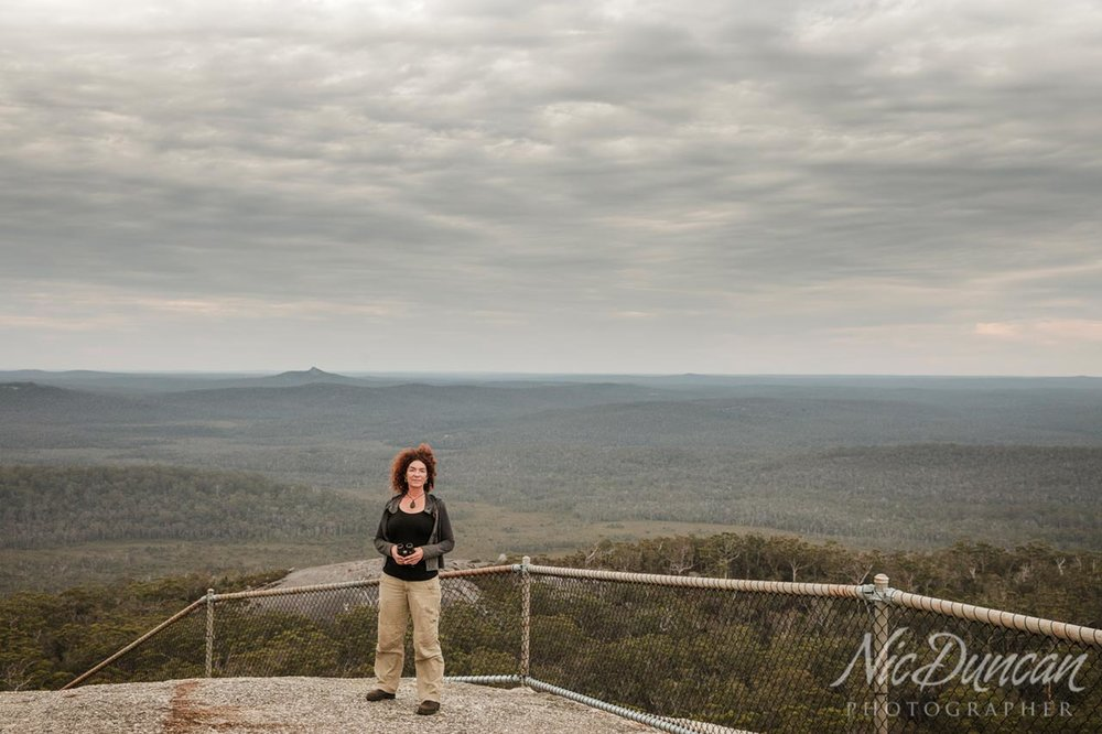 View from the top of Mount Frankland, Walpole