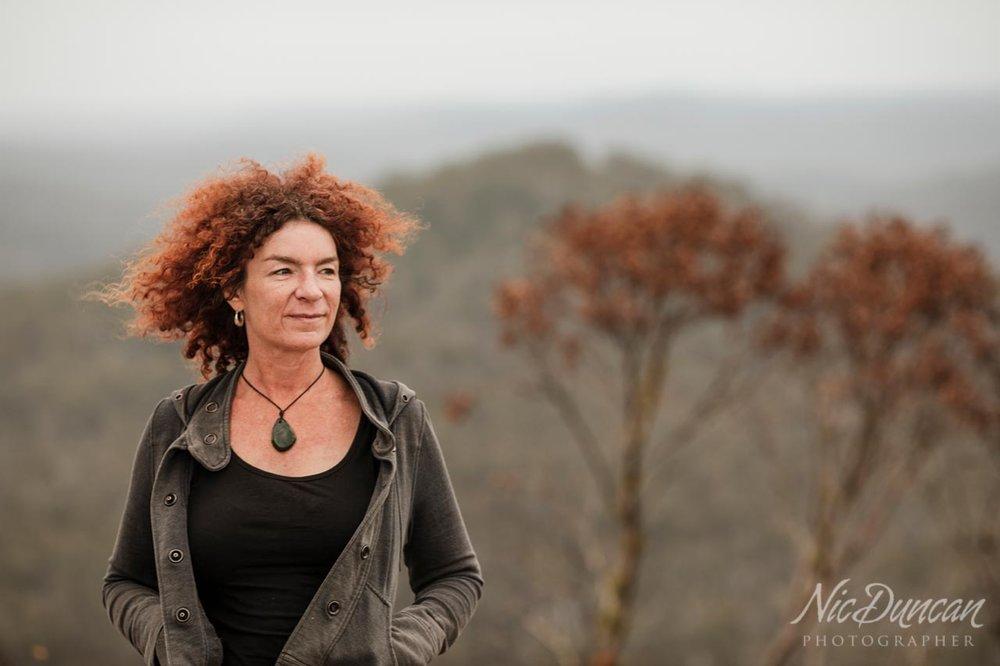 Walpole portrait of Sarah Drummond on top of Mt Frankland WA