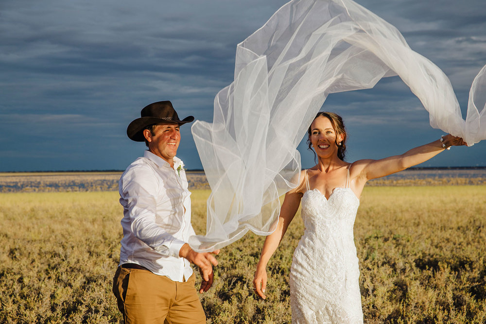 outback wedding at wooleen station