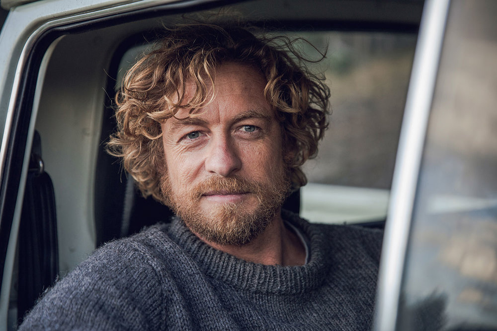 Simon Baker as Sando in the Australian movie Breath, based on Tim Winton's book