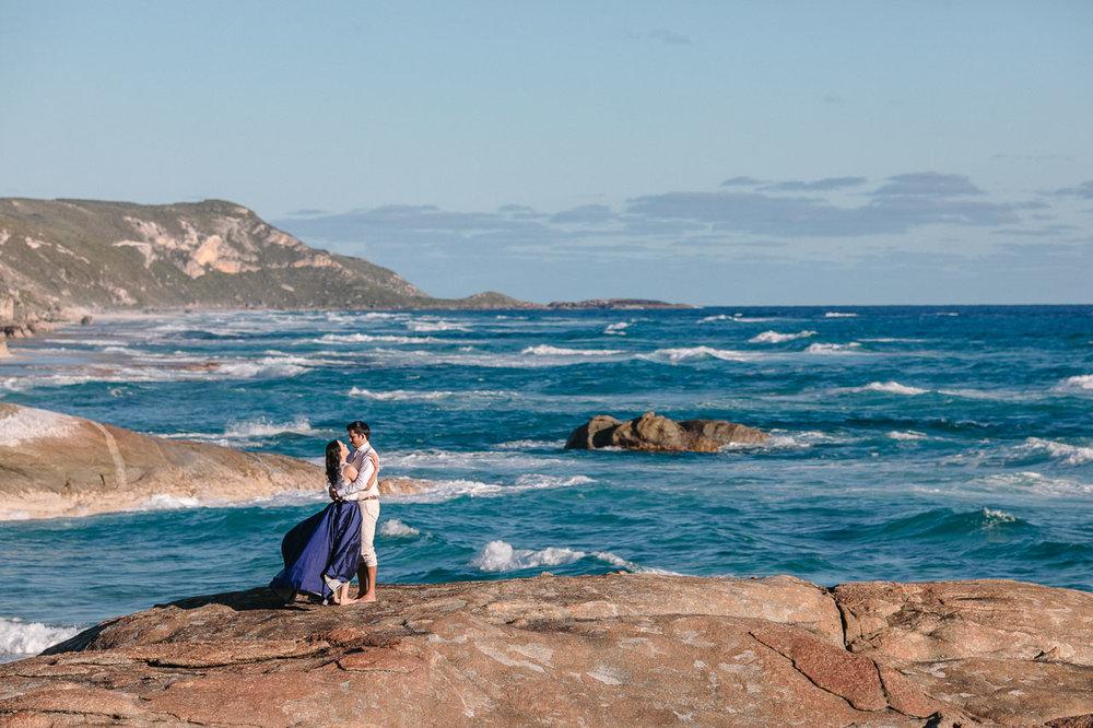 A wedding on the amazing south coast of Western Australia