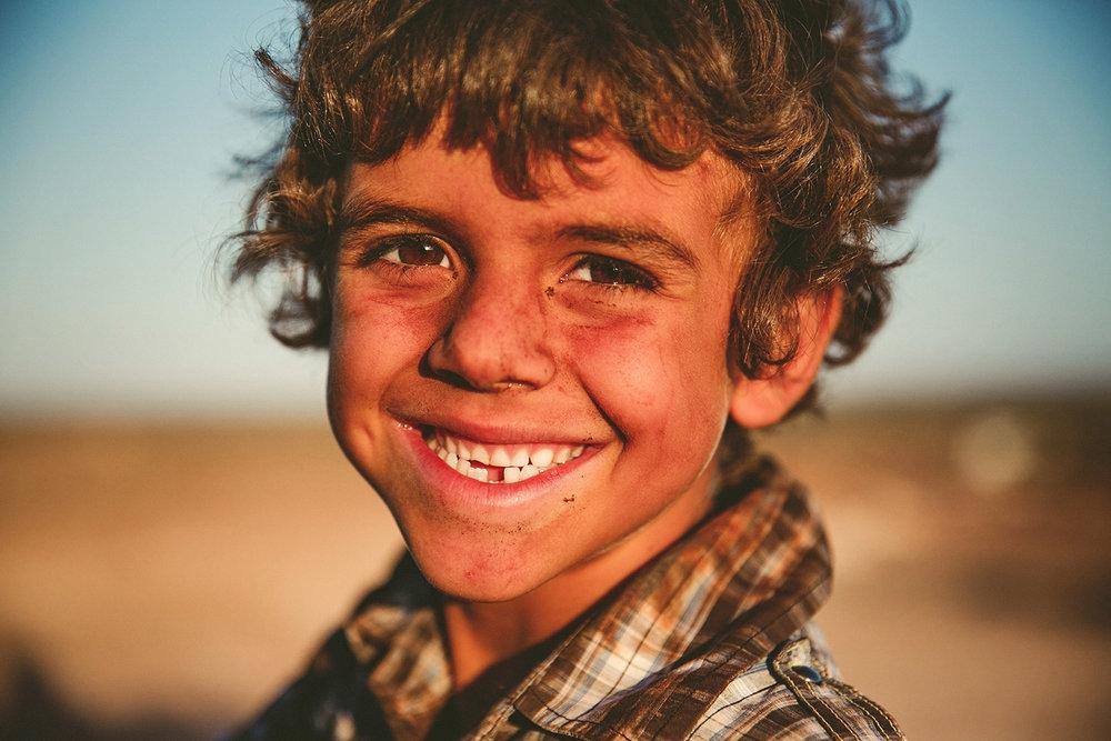 """Station life - outback boy, """"bush chook"""""""
