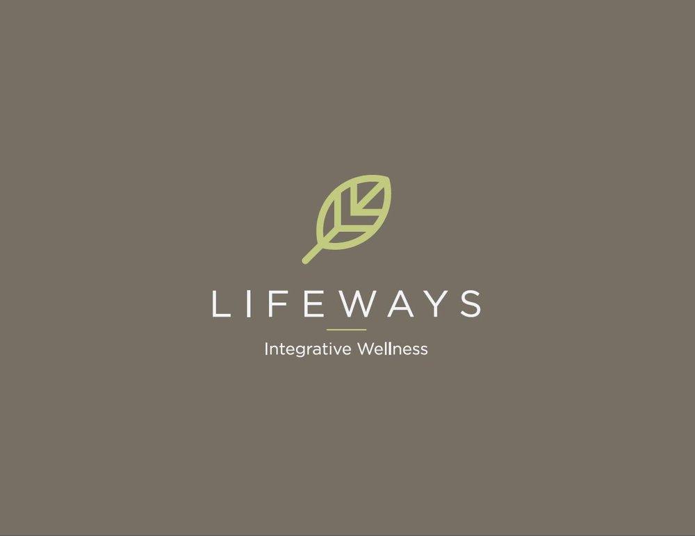 Logo for natural health company