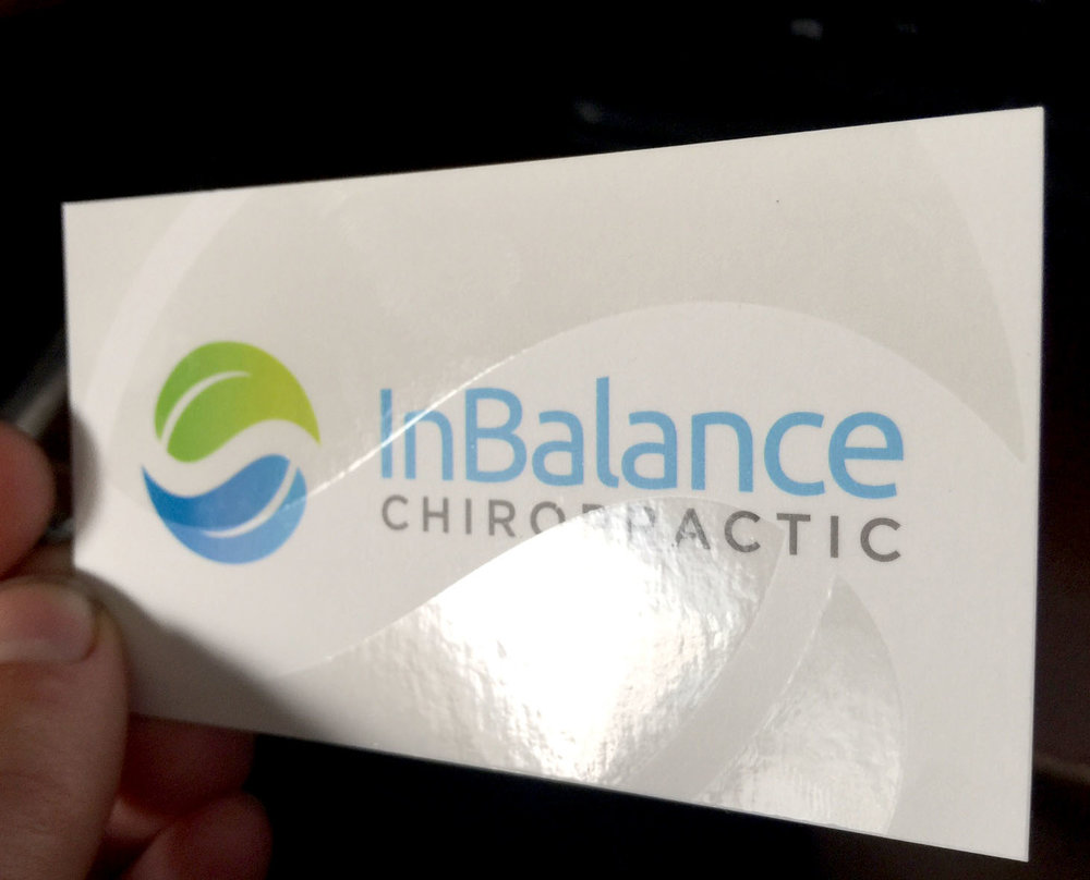InBalance Chiropractic Logo — Lesia Design and Digital