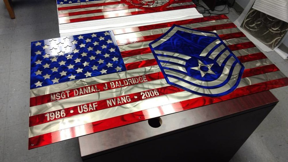 Air Force Flag Retirement Gift