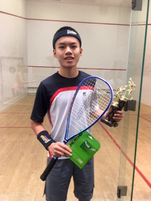 Eric Lin   (14 Year-old Junior player from Los Angeles, CA) , won the 4.0 division in five games and was a finalist in the 4.5 finals.