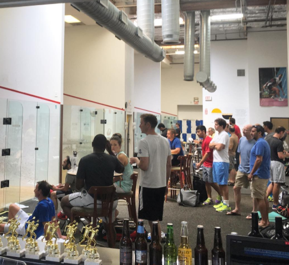 The Surf City Open at San Diego Squash.