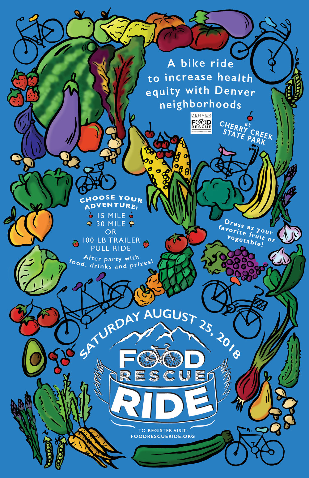 Denver Food Rescue Ride Poster * Click to expand *