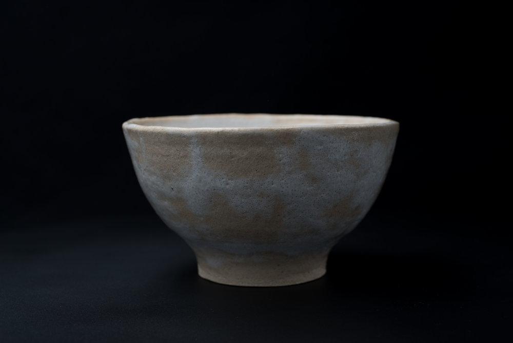 Medium High Bowl - Glaze: whiteMaterials: ClayØ 19cm x 11cm | Ø 7.5