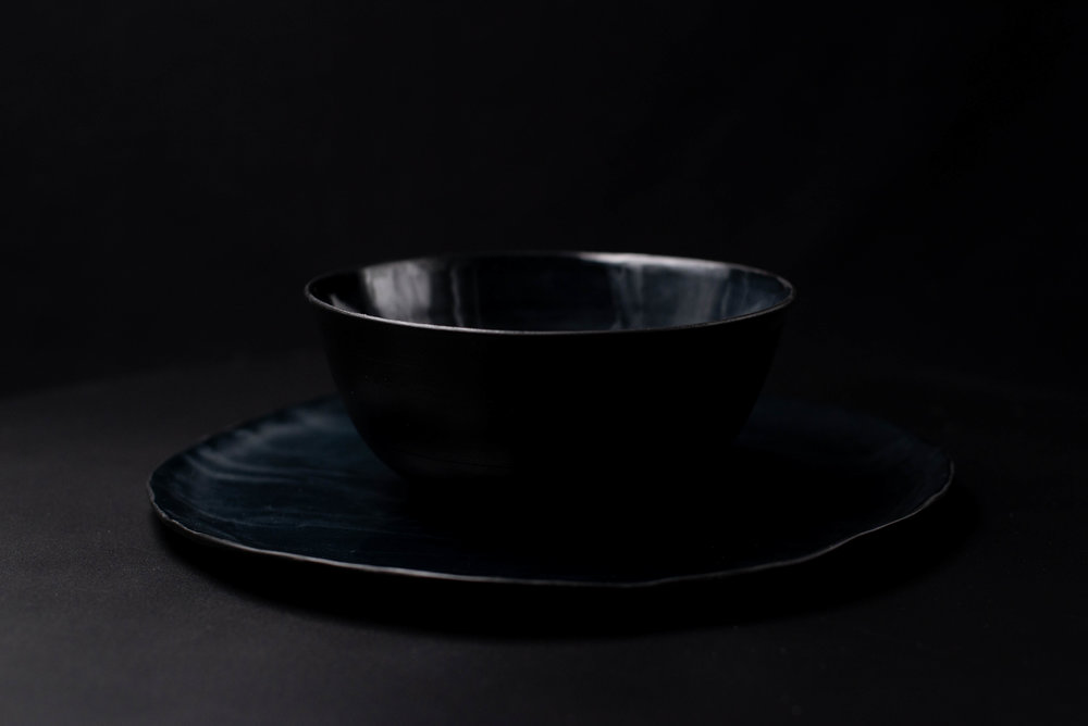 Black Pearl - Porcelain by Catrerina Roma