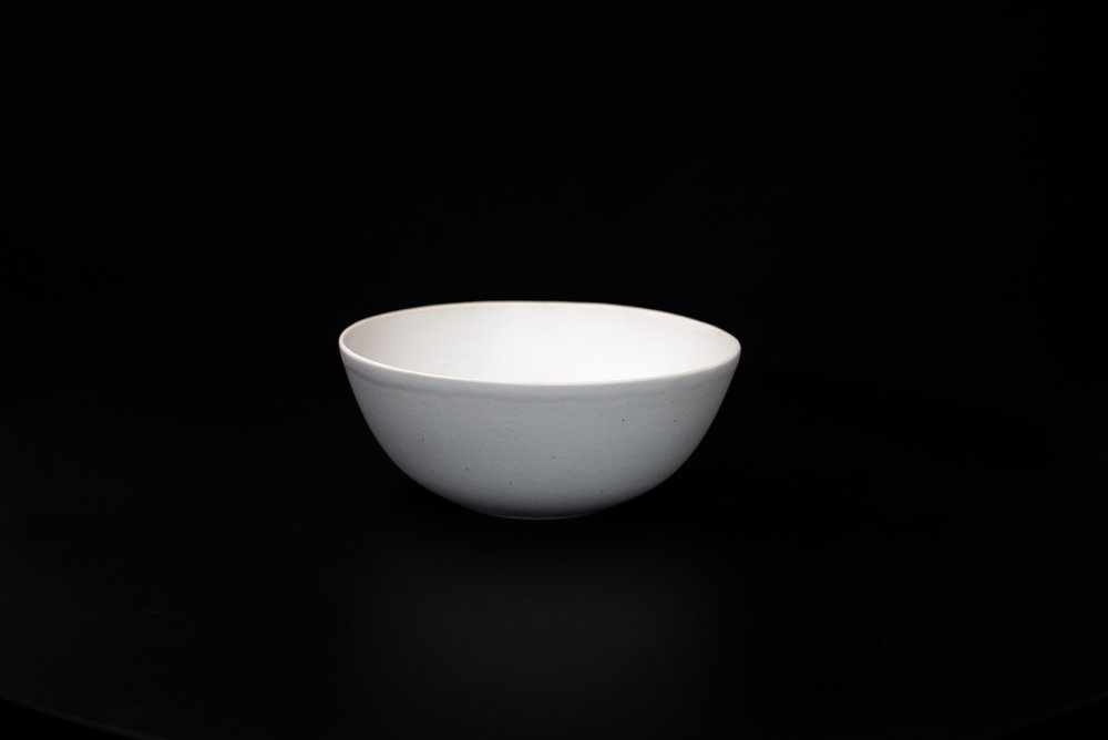 N3|NESTED BOWL - Glaze: Satin light whiteMaterials: PorcelainØ 17cm x 7cm | Ø 6.69