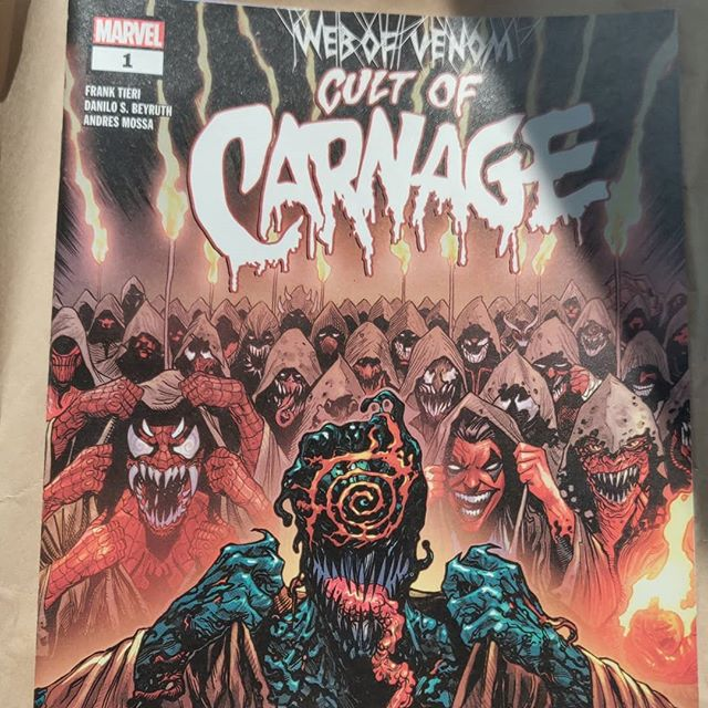 Todays #NCBD seems more quality or quantity,  picks R 👇 1. #CultofCarnage  1  by @FrankTieri - @edcabigao 2. #Catwoman 10 by @joelle_jones - @thedaniellynn 3. #Fairlady 1 by @brian_schirmer - @jonathannanney 4. #OrphanAge 1 by #TedlyAnderson - @thebealestbully . . . . . . . . . . . . #comics #comicbooks #marvel #DCComics #idwpublishing #imagecomics #CaptainMarvel #shazam #aftershockcomics