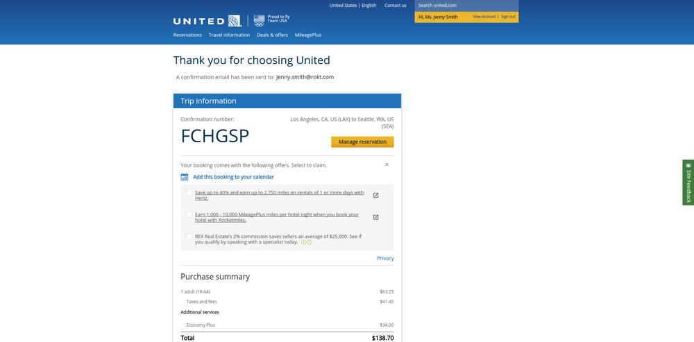 United - Desktop Widget