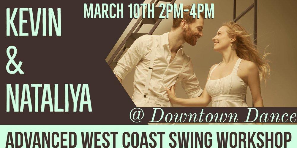 west coast swing workshop