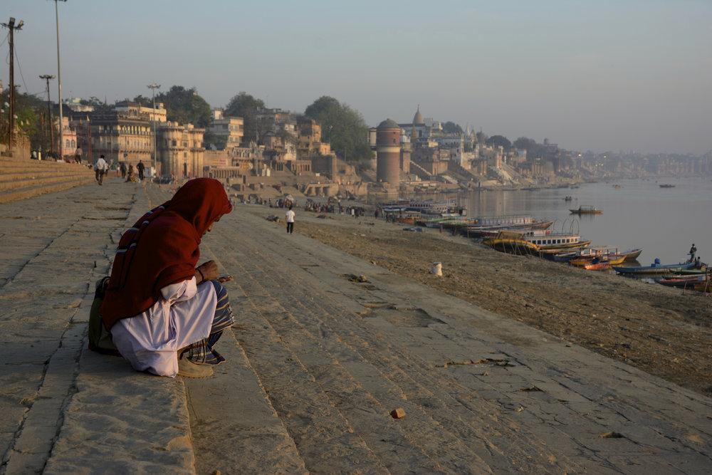 Man On Assi Ghat.jpg