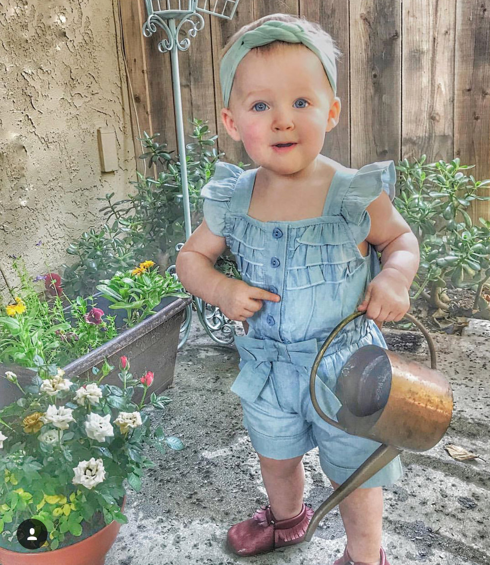 HER FIRST STEPS -