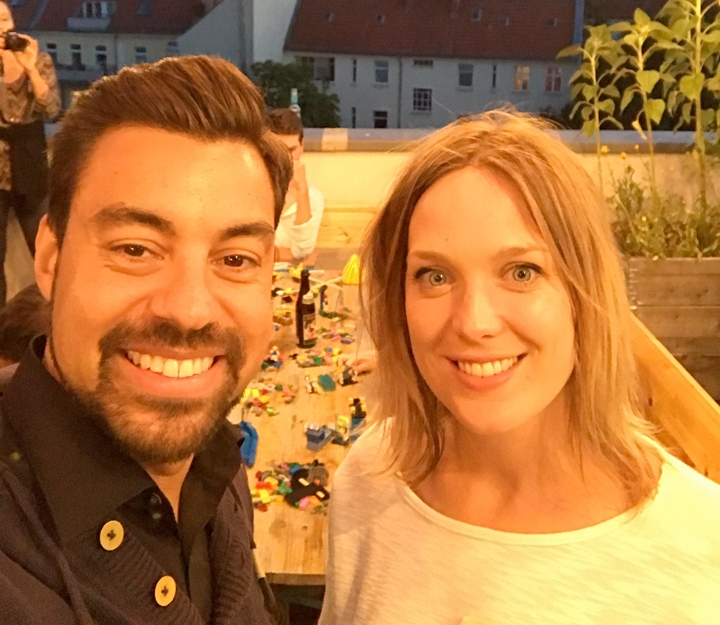 Speaker: Julian Kea und Coralie Moore - Certified facilitators of LEGO® SERIOUS PLAY®