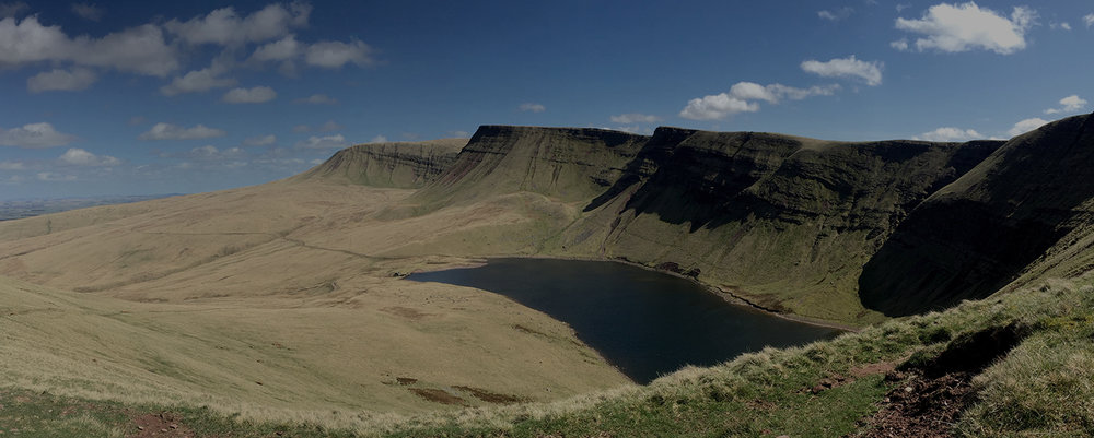 3. The Lady of the Lake - Hidden in the western range of the Brecon Beacons