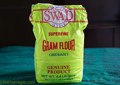 """""""Gram flour, je t'aime."""""""