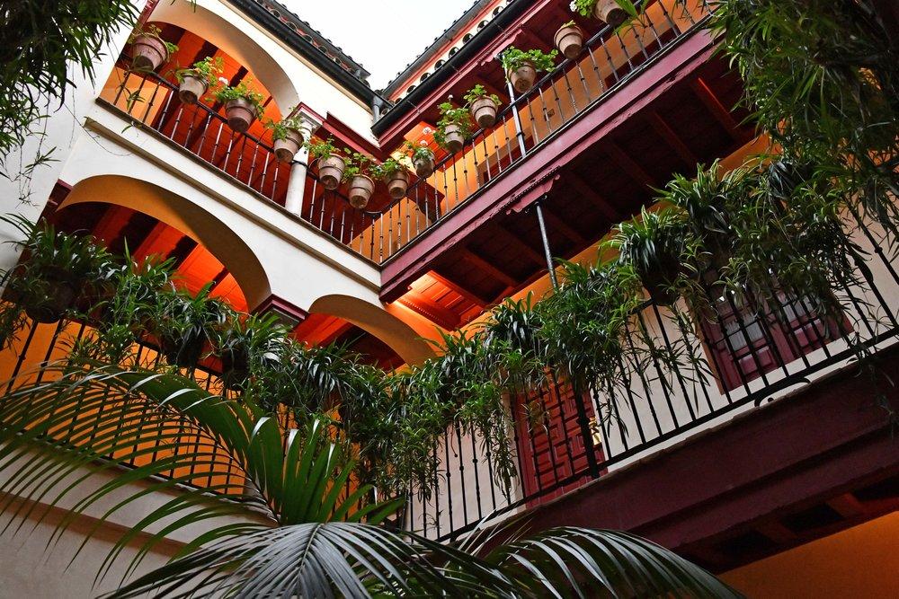 Balconies at Las Casas de la Juderia