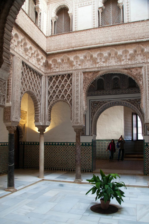 Patio de las Muñecas, Real Alcázar