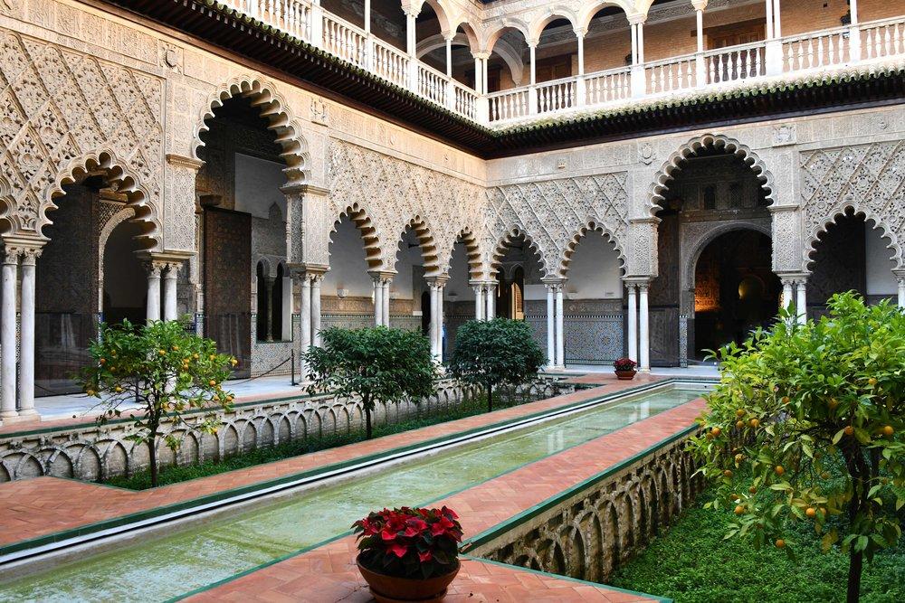 Patio de las Doncellas, Real Alcázar