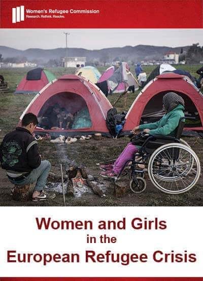 Women and Girls in the European Refugee Crisis