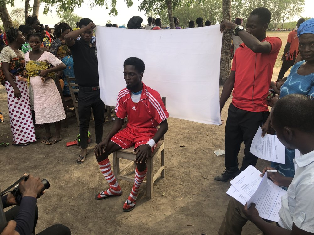 Players from Deve Volta Region become part of White Ribbon Campaign Ghana