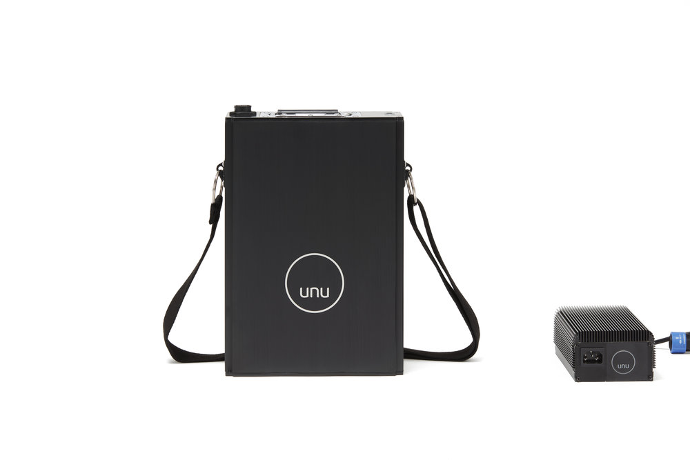 unu - portable battery and charger