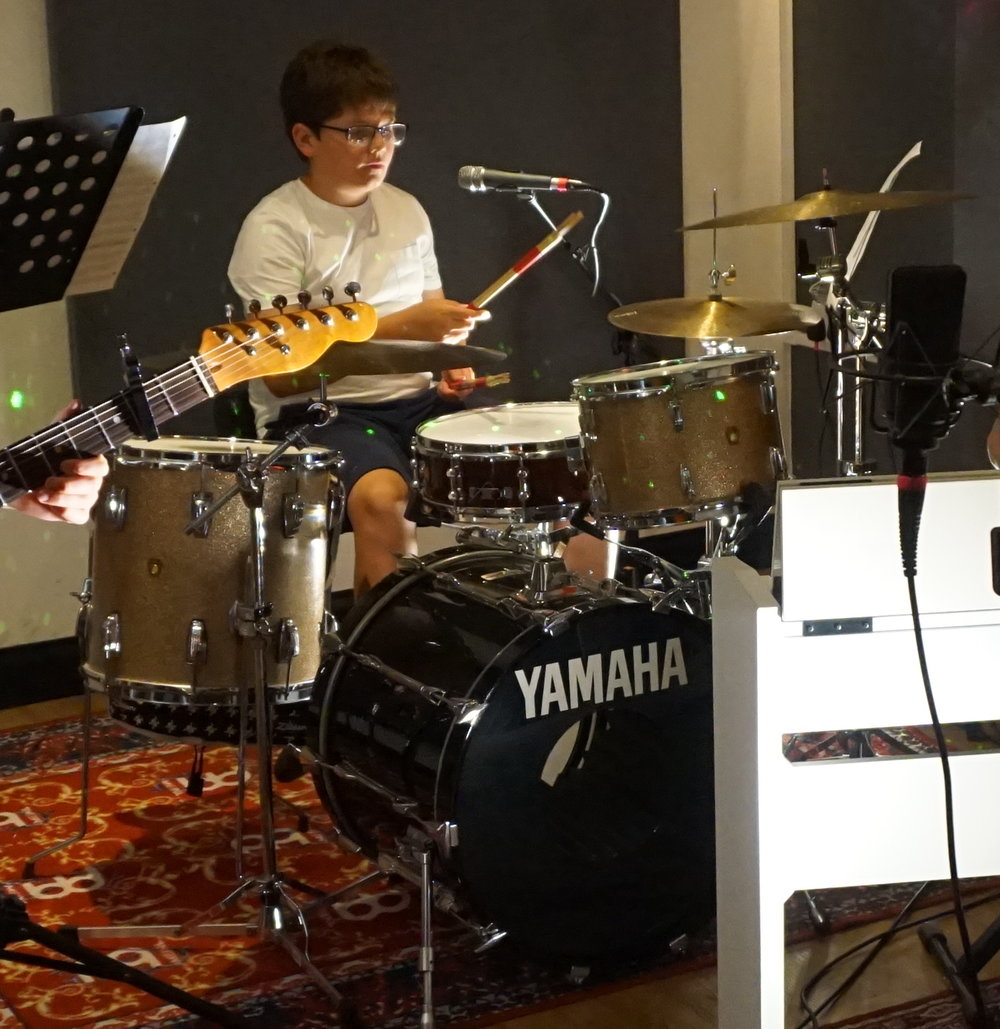 William Bedford - Will is a multi-instrumentalist, learning the drums, guitar and vocals here at PMA. He is also part of our Youth Choir and regularly joins our RockSchool holiday workshops with his band Northern Lights.Will works at PMA during school holidays and makes a mean cuppa. He's also very funny and makes everyone laugh with his great sense of humour!