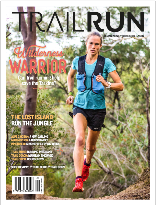 Trail Run Mag    cover runner, Simone Brick, will present at Warby Trail Fest!