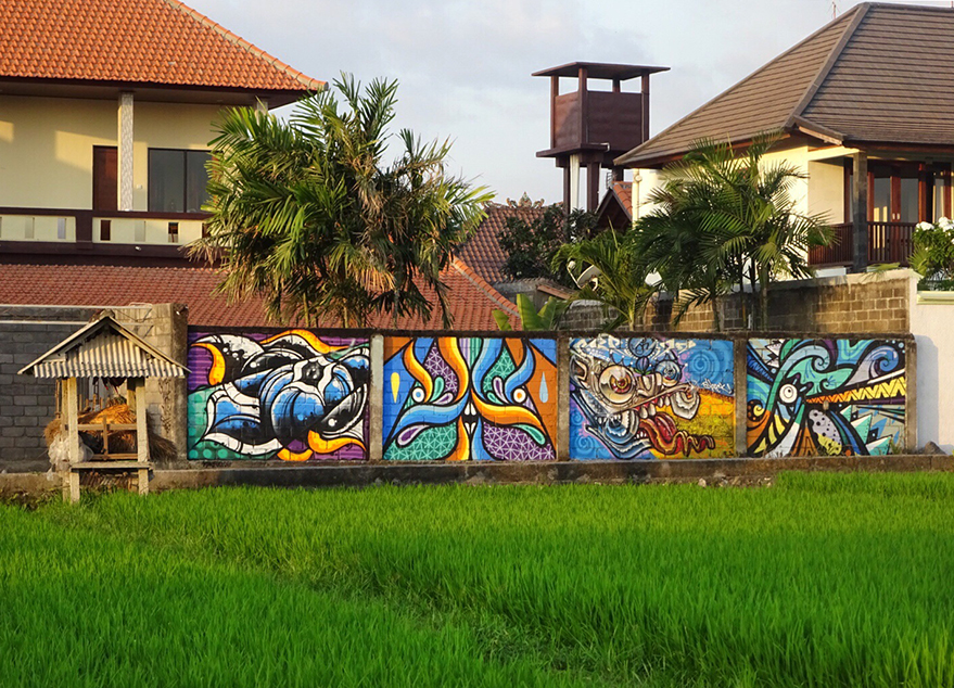 MURAL IN COLLABORATION WITH KONFUCIUS, BEASTMAN AND SLEECK. 2015
