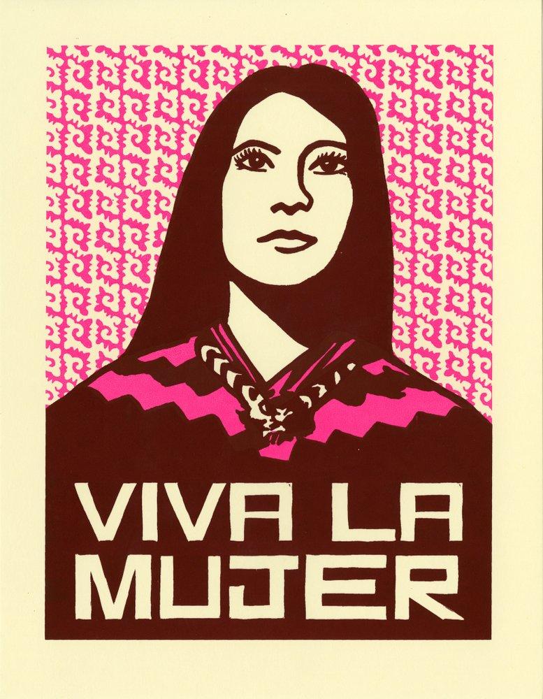 Dignidad Rebelde - social justice/ revolutionary printshop run by artist  Melanie Cerventes and master printmaker  Jesus Barraza in Oakland, CA.