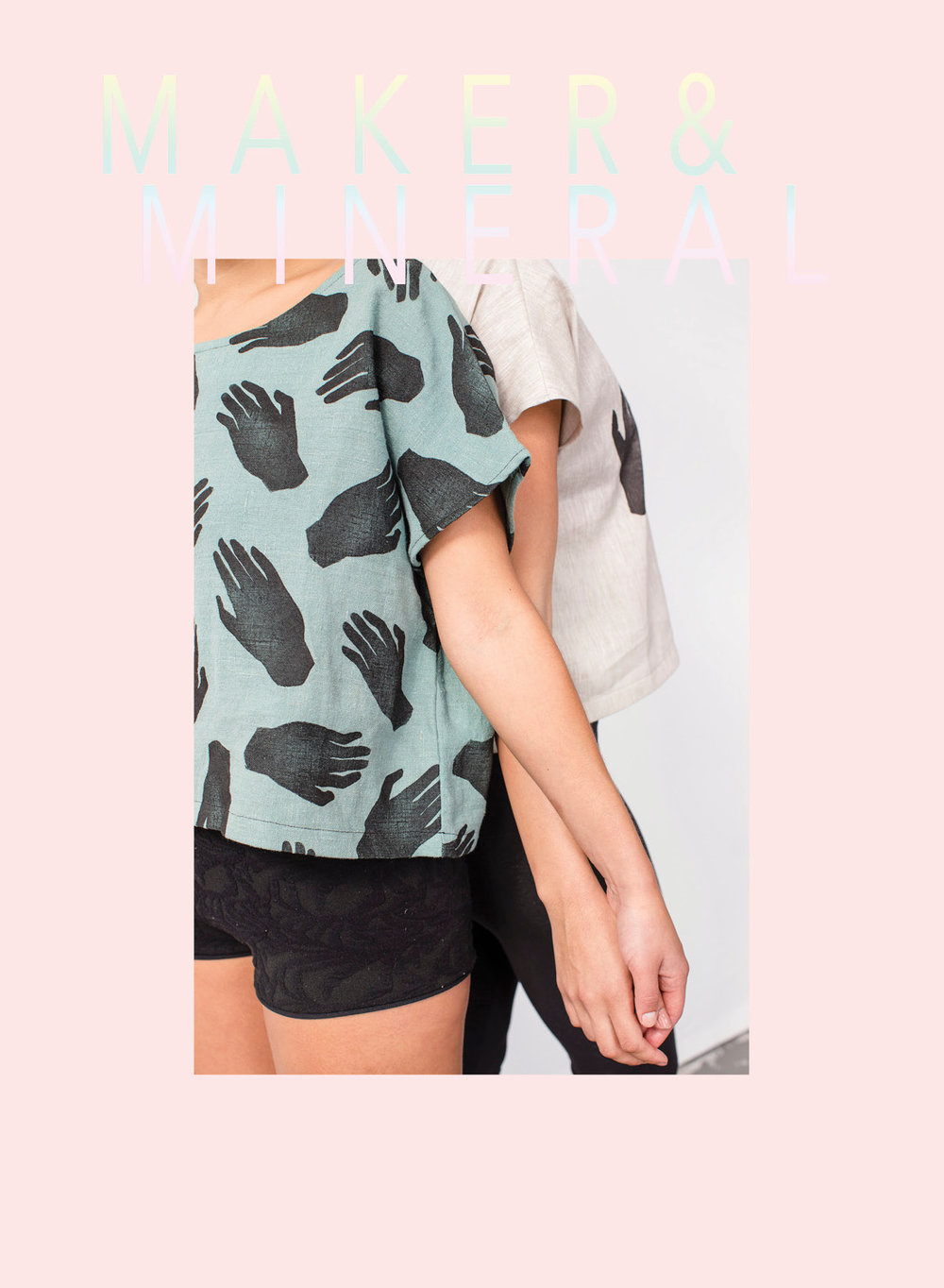 Maker and Mineral  - gorgeous, eco-conscious and handcrafted printed clothing run by Samantha Ives.