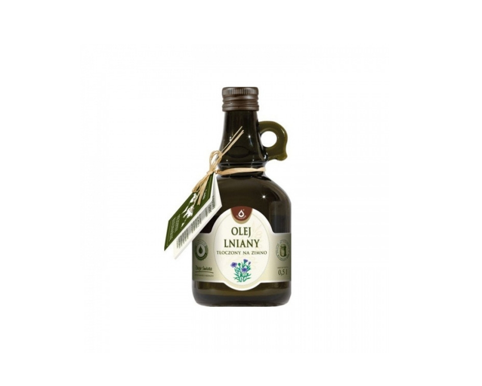 Każdy olej lniany jaki dorwiecie na półce sklepowej się nada.