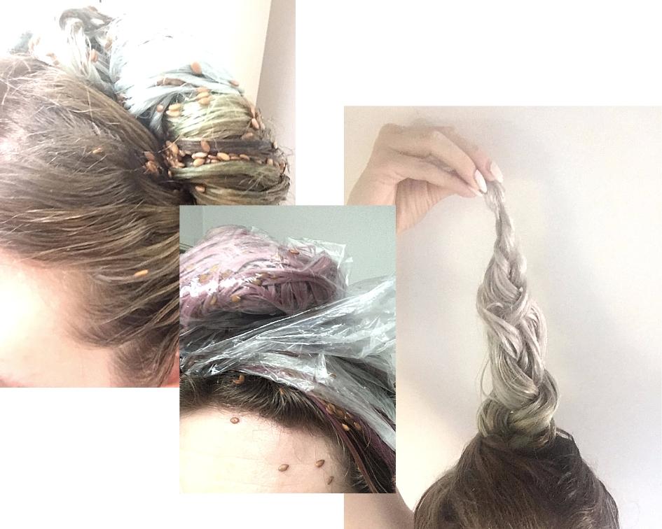 Kilka ujęć z mojej akcji ratunkowej dla włosów. Niżej opisane co i jak.