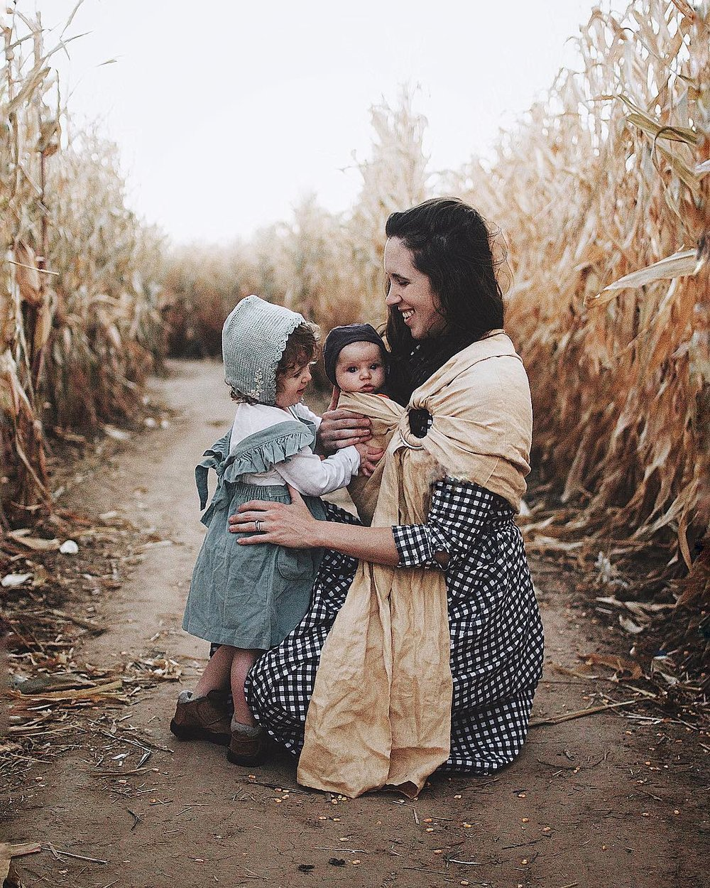 Kayla and her two daughters, Jessamyn and Ophelia