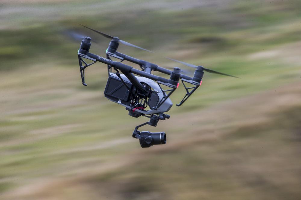 Drone DJI Inspire 2 + zenmuse x7