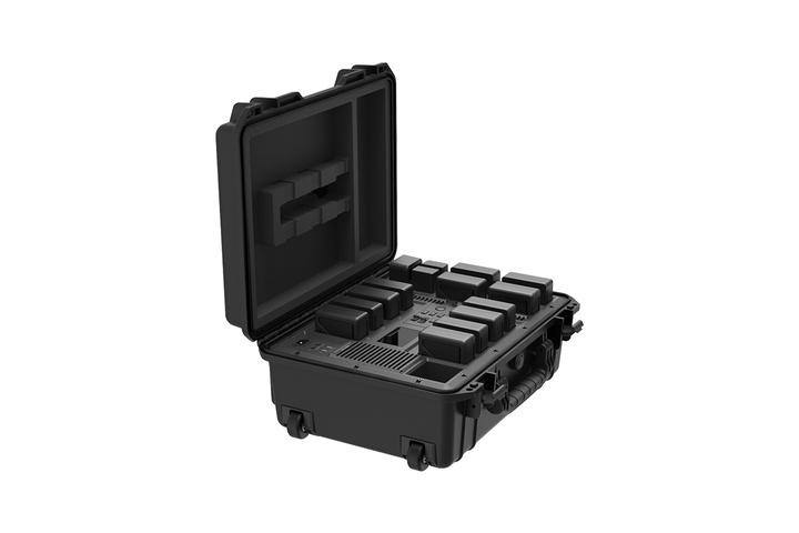 Configuration tout terrain - configuration 20 batteries, tournage en continu