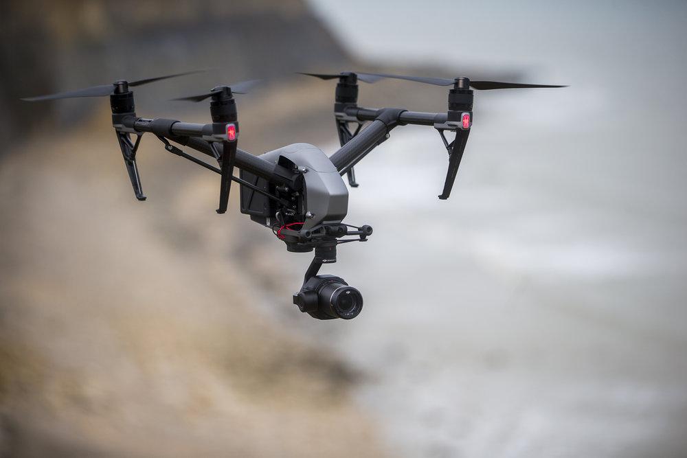 Le drone, L'inspire 2 - L'inspire 2, le multirotors révolutionnaire